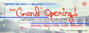 DDGC presents the Grand Opening graphic