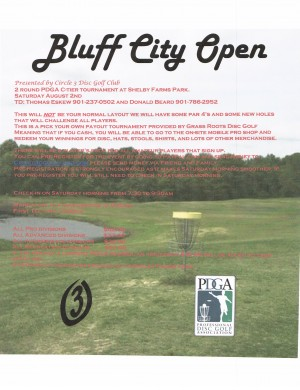 2nd Annual Bluff City Open graphic