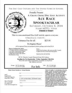 Crane Creek Ace Race Spooktacular graphic