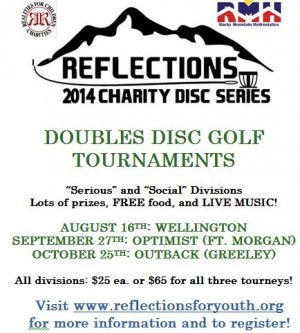 Reflections Charity Series Tournament 3: GREELEY graphic
