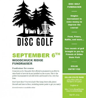 Woodchuck Ridge Fundraiser graphic