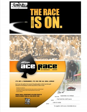 Discraft Ace Race Bemidji graphic