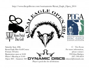 Kenai Eagle Open 2014 graphic