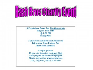 Bash Bros Charity Event graphic