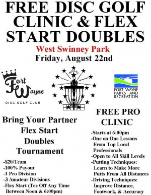 Flex Start Doubles & FREE Pro Clinic graphic