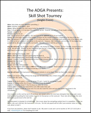 Skill Shot HT Style graphic