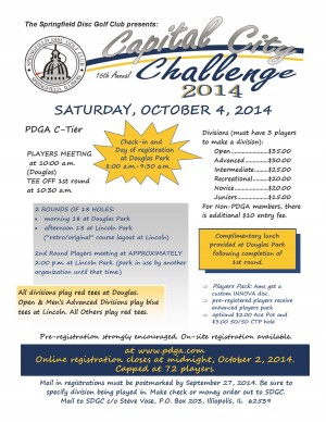 16th Annual Capital City Challenge graphic
