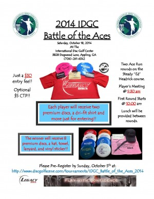 IDGC Battle of the Aces 2014 graphic