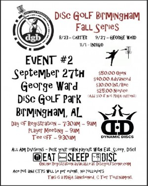 DGB Fall Series Event #2 graphic