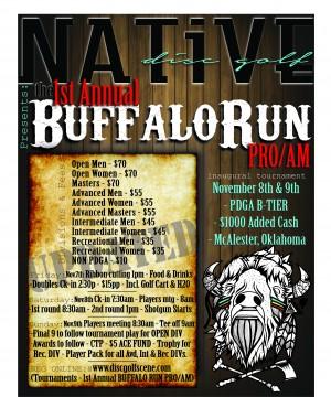 1st Annual BUFFALO RUN PRO/AM graphic