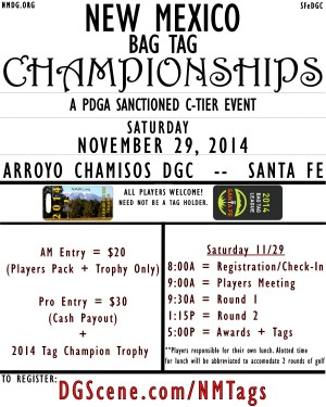 2014 New Mexico Tag Championships graphic