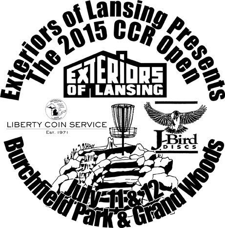 Good Exteriors Of Lansing Present The 2015 CCR Open Graphic