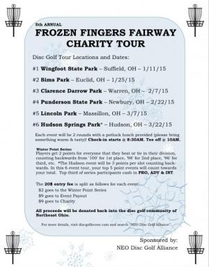 Frozen Fingers Fairway Charity Tour 2015 - Stop #4 graphic
