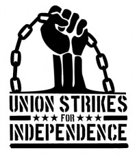 Union Strikes for Indy graphic