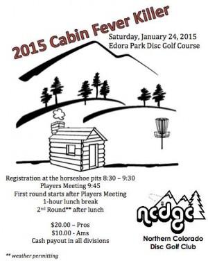 Cabin Fever Killer 2015 graphic