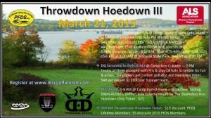 Throwdown Hoedown @ Moraine & Camp Kon-O-Kwee graphic