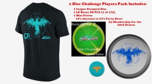 1 Disc Challenge 2015 A3 League Kickoff graphic