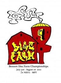 2010 Bennett Disc Farm Championships graphic