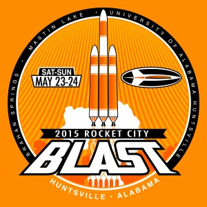 2015 Rocket City Blast graphic