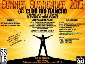 Summer Surrender 2015 graphic