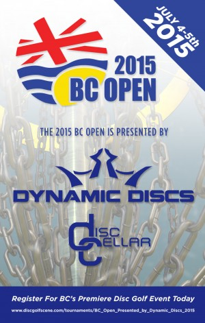 BC Open Presented by Dynamic Discs graphic