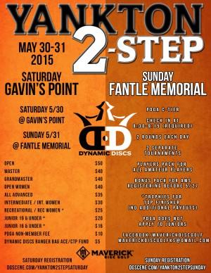 Yankton 2-Step: Sunday at Fantle Memorial graphic