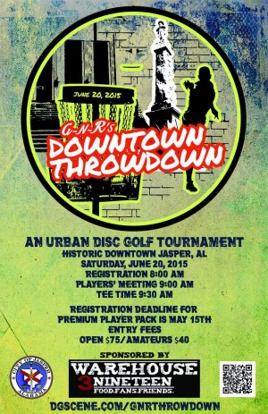 GnR's Downtown Throwdown graphic