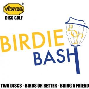 Vibram Birdie Bash at Cane Creek Park graphic
