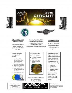 2015 MVP Circuit at The IDGC graphic
