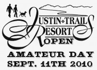 Justin Trails Open Present by Evergreen Disc Sports - Amateur Day graphic