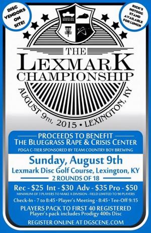 The Lexmark Championship graphic