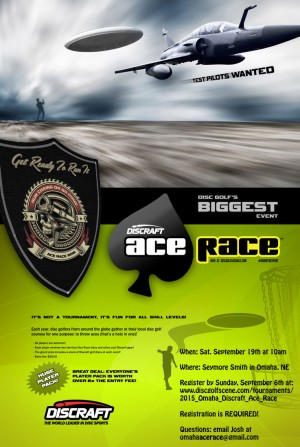 2015 Omaha Discraft Ace Race graphic
