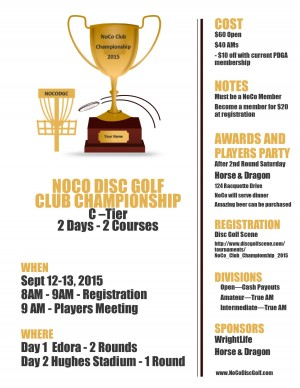 NoCo Club Championship 2015 graphic