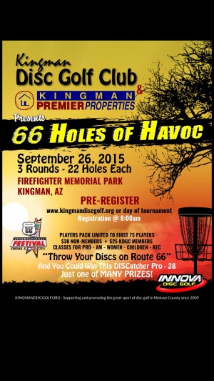 The 2nd Annual 66 Holes of Havoc graphic