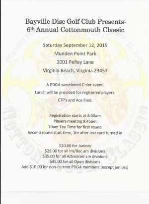 Cottonmouth Classic VI graphic