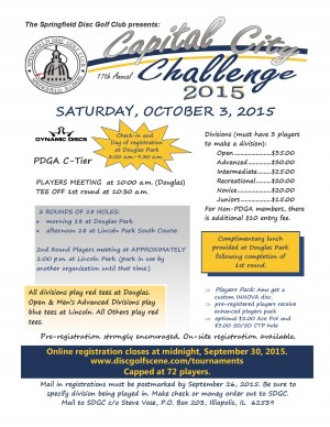 17th Annual Capital City Challenge graphic