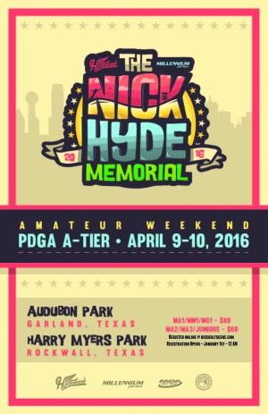 Nick Hyde Memorial - AM Weekend graphic