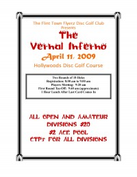 The Vernal Inferno graphic