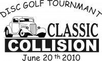 Classic Collision Disc Golf Tournament graphic