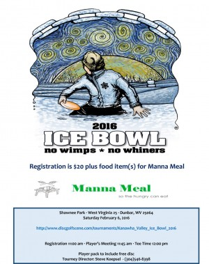 Kanawha Valley Ice Bowl 2016 graphic