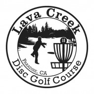 Lava Creek Disc Golf Club logo