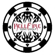 Hellfire Disc Golf Club logo