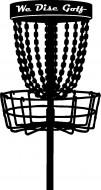 We Disc Golf logo