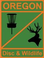 Oregon Disc & Wildlife logo