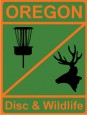 Oregon Disc & Wildlife logo