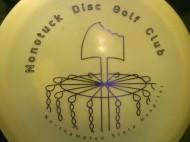 Nonotuck Disc Golf Club logo