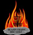 Blazin' Chains Disc Golf logo
