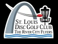 The St. Louis Disc Golf Club (RCF- Official) logo