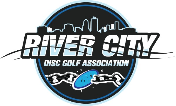 River City Disc Golf Association logo