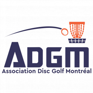 Association Disc Golf Montreal ( ADGM ) logo